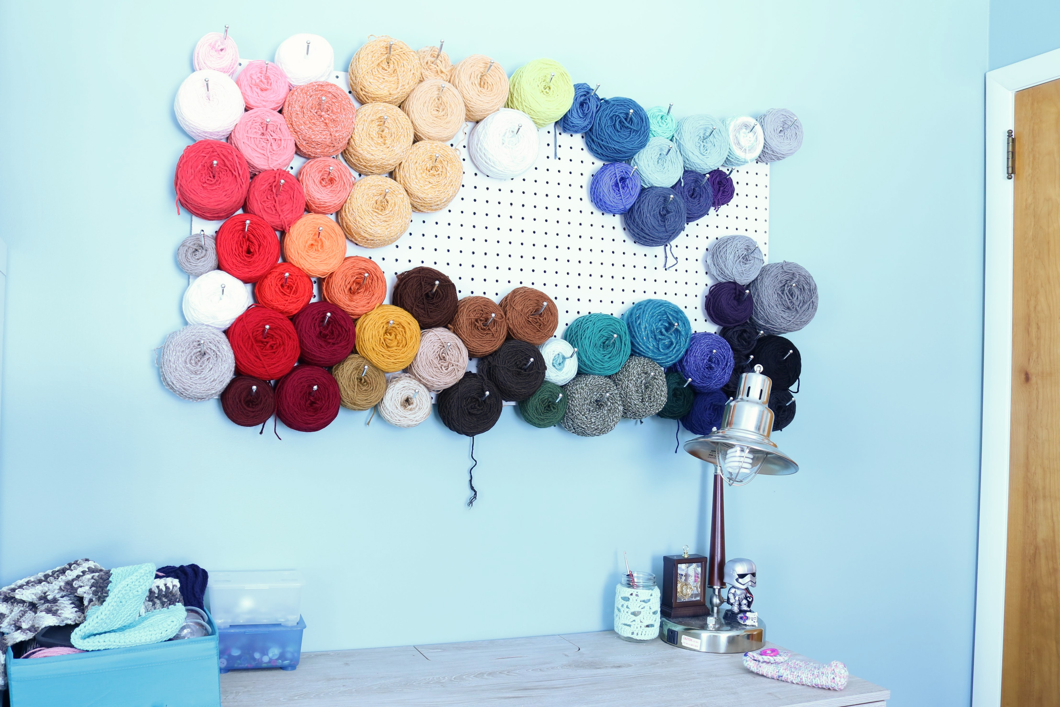 Yarn Storage Solutions From Modern Crochet. See How I Created Art And  Stored My Excess